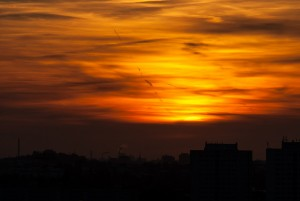 Sonnenuntergang Berlin Creative Commons