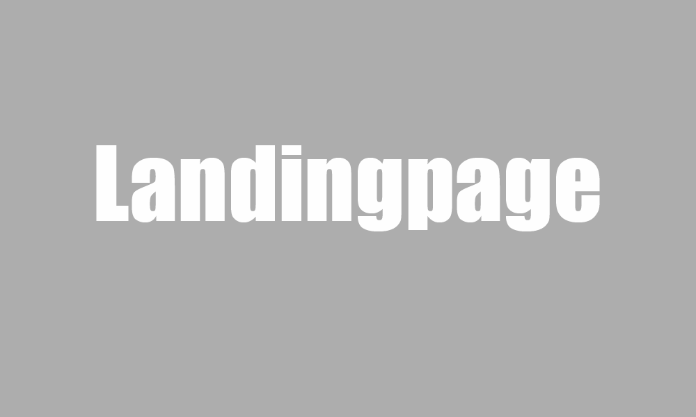 Website Landingpages