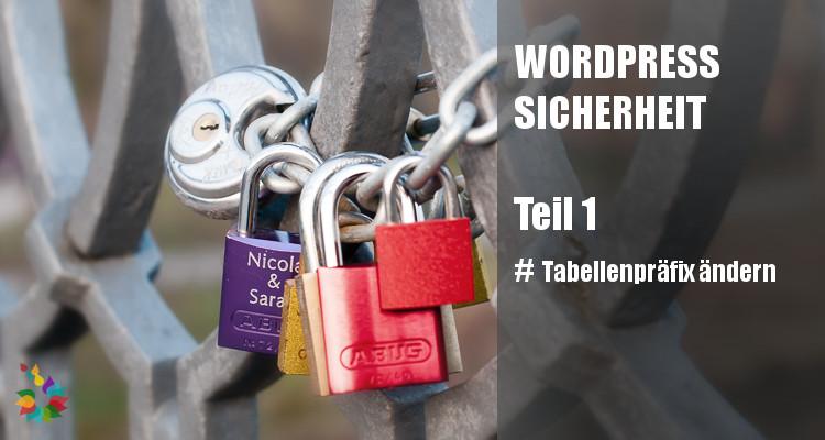 Homepage Sicherheit Tabellenpräfix ändern