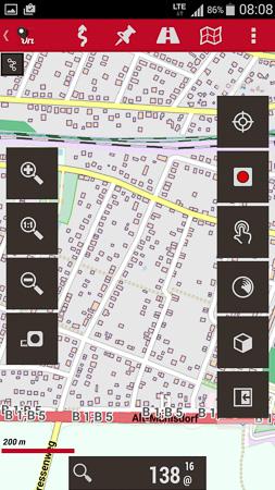 Oruxmaps Navigationssoftware für Android