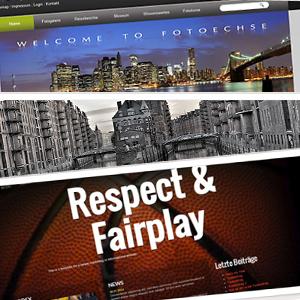 Homepage-Baukästen