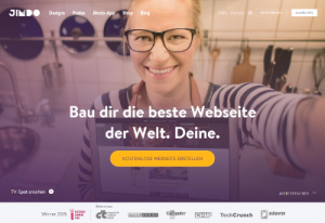 Jimdo Homepage-Baukasten