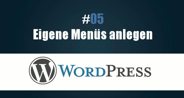 Wie erstelle ich ein Menü in WordPress?
