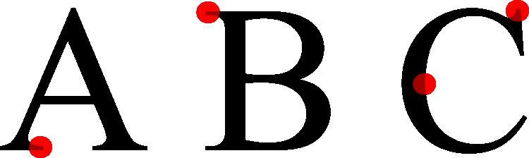 Times New Roman - Serifen Schrift