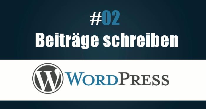 Wie kann ich Beiträge in WordPress Artikeln schreiben?