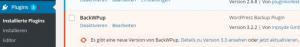 Wordpress Plug-in aktualisierungen