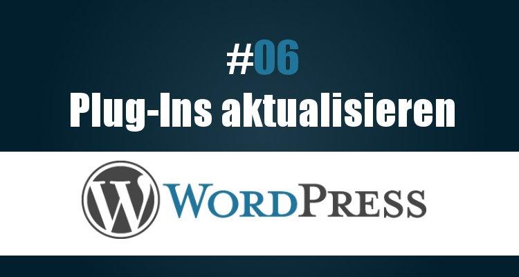 Plug-Ins in WordPress aktualisieren